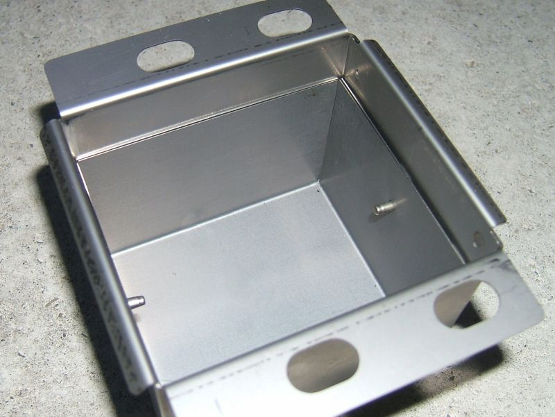 Magnetic shielding box for sensors